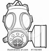 Mask Gas Clipart Illustration Royalty Drawing Skull Ww1 Template Coloring Pages Sketch Perera Lal Rf Clipartmag sketch template