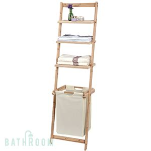 buy bathroom ladder shelves  laundry bag  home bargains