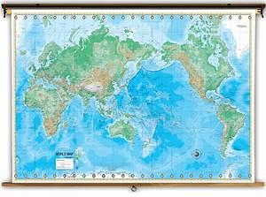 World Map Mountain Ranges