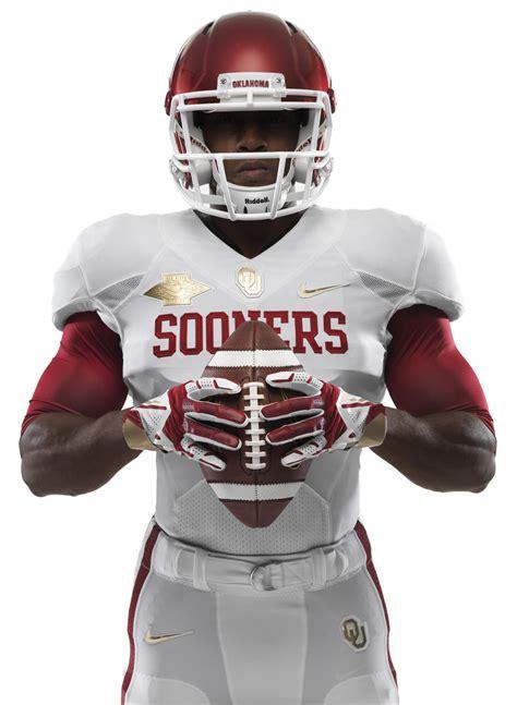 texas  oklahoma unveil  nike football uniforms
