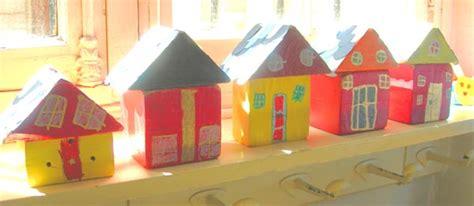 fabriquer des maisons en bois 233 cole maternelle