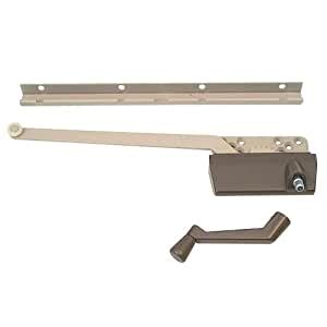 prime  products   wood casement operator  track     arm bronze