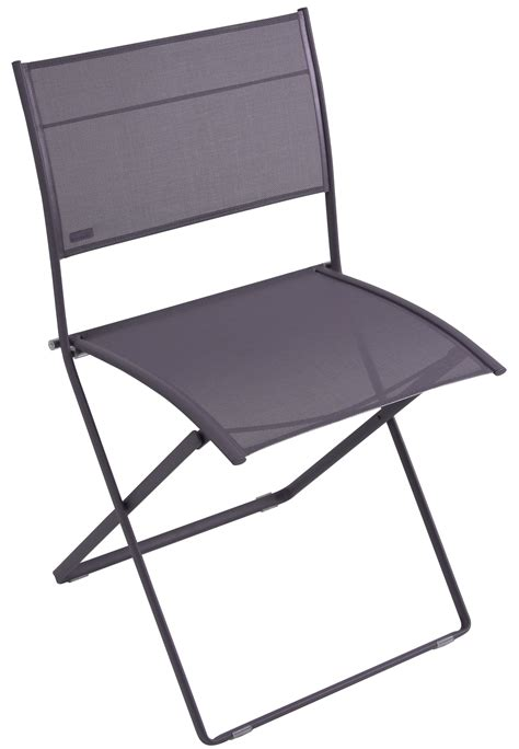chaise prune chaise pliante plein air de fermob prune