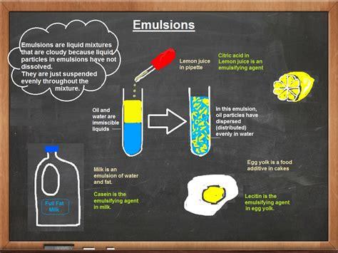 emulsion cuisine emulsions science makes sense