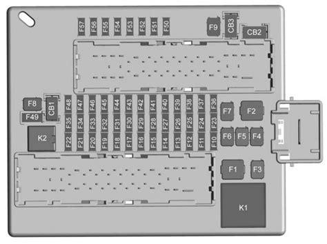 Chevrolet Camaro Fuse Box Diagram