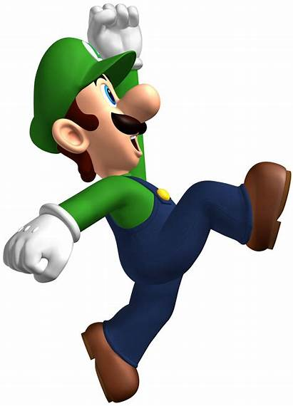 Luigi Mario Bros Nsmb Brothers Jumping Ice