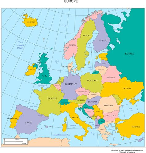 maps  europe