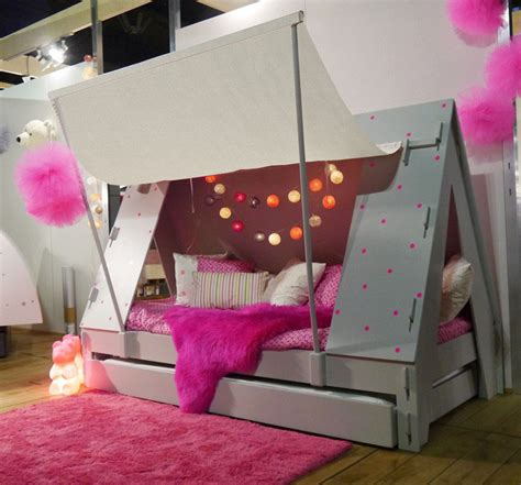 caravan  tent camping themed beds  kids
