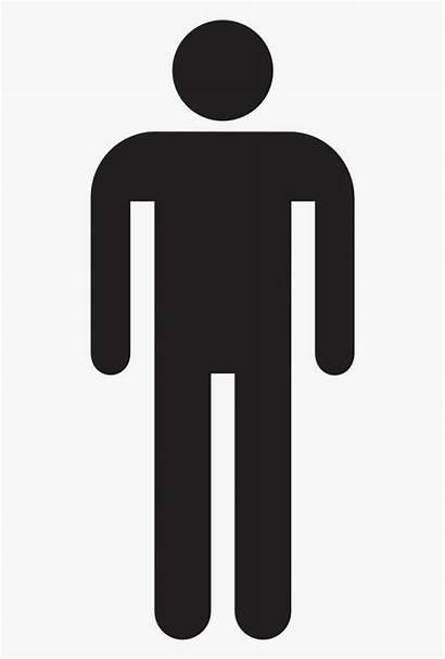 Stick Figure Clipart Male Symbol Silhouette Cartoon