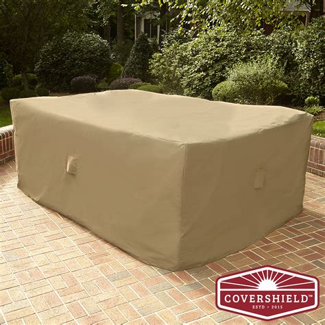 covershield rectangle furniture cover deluxe