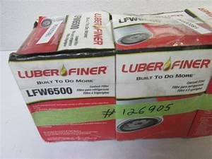 Lot Of 2 Luber Finer Lfw6500 Spin On Coolant Filter 5 8