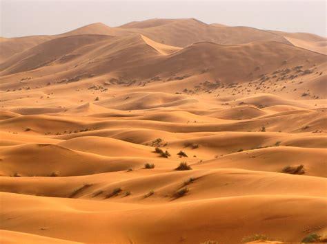 Erg Chebbi Sand Dunes Sahara Desert Morocco A Photo On