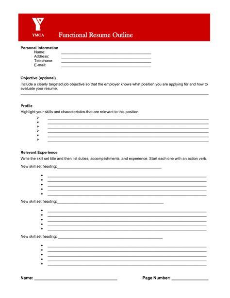 resume builder worksheet pdf resume exle resume outline worksheet templates resume layout template blank resume template