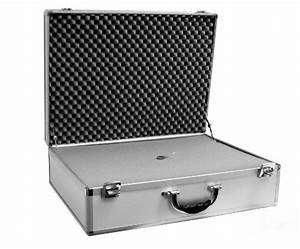 Cases By Source SV22166 Smooth Silver Aluminum Case with ...
