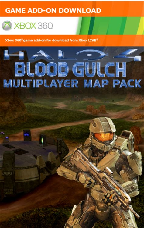 halo  blood gulch dlc xbox  box art cover  mikeyplater