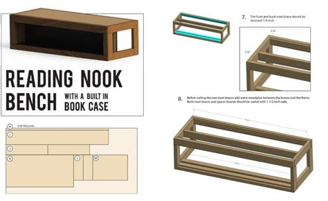 reading nook bench plans for reading nook bench gray house studio
