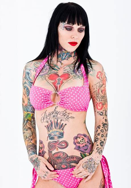 Janine A Davidson Do Men Find Tattoos On Women Attractive