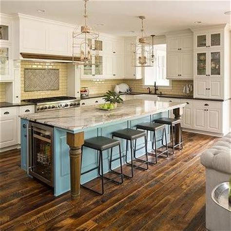 Two Tone Kitchen with Subway Tiles   Contemporary   Kitchen