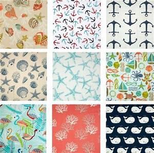 Fabrics -From Seashell to Beach to Nautical - Coastal