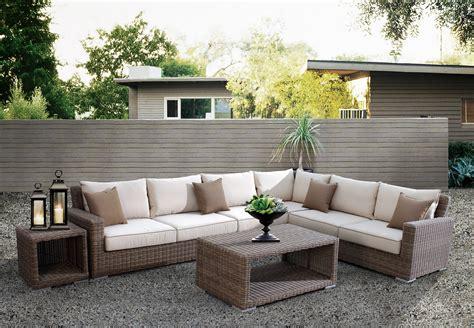 Outdoor Wicker Patio Furniture by Redesigning Your Home With Outdoor Wicker Patio Furniture