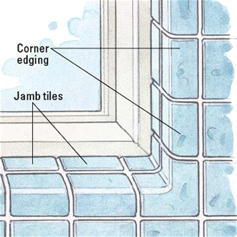 tile  window recess  homes gardens
