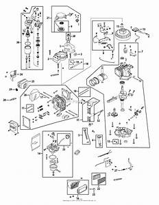 Mtd 2p70m0b Engine Parts Diagram For Engine Assembly 2p70m0b