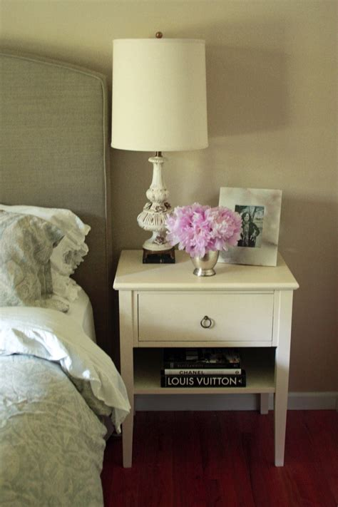 painted bedside tables ideas  pinterest