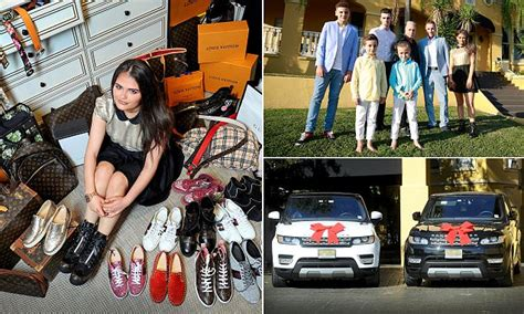 Teenager Saffron lives lavish lifestyle thanks to fathers ...