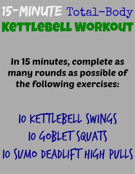 workout kettlebell body minute total health consult doctor before please exercise note starting