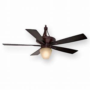 Casablanca Colorado C42g546l 60 U0026quot  Brushed Cocoa Ceiling Fan W   Light
