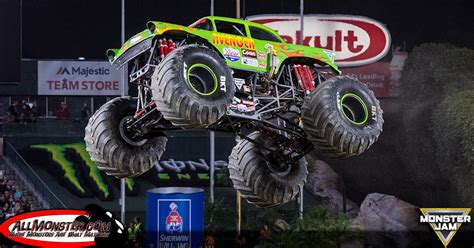 Monster Jam Photos Anaheim 1  Stadium Tour 1 January