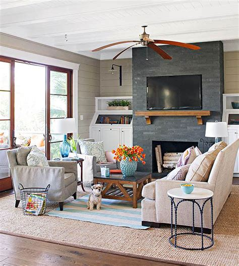 Decorating Ideas Next To Fireplace by Fireplace Designs And Design Ideas Fireplace Photos Bhg