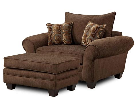 Large Armchair by Mh910 Oversized Chair And Ottoman Combination By Townhouse