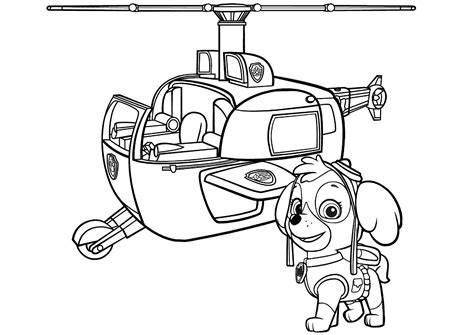 Check out our paw patrol party printables selection for the very best in unique or custom, handmade pieces from our party décor shops. Skye Paw Patrol Coloring Lesson   Kids Coloring Page - Coloring Lesson - Free Printables and ...