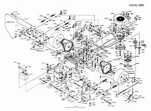 Dixon Ztr 501  1987  Parts Diagram For Chassis Assembly