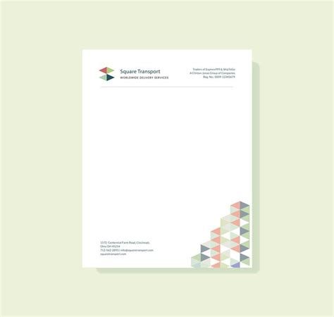 letterhead templates  word ai eps