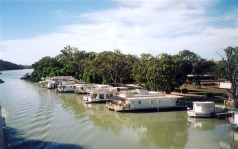 Houseboat On Murray River by The Murray River Houseboats