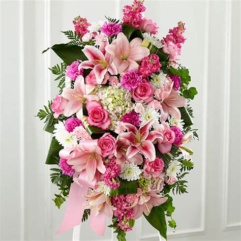 headstone flower arrangement ideas the gently into the after standing spray judy 39 s