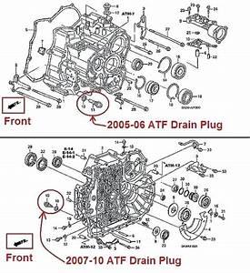 2007 Honda Odyssey Oil Drain Plug Torque