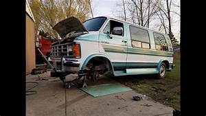Detroit Gambler Rally 500  93 Dodge Van Buildup  Part 1