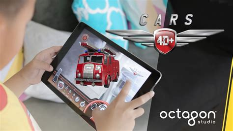Kids React To Augmented Reality Flashcards Cars 4d+  Octagon Studio Youtube