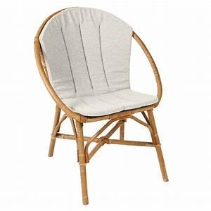 Coussin Fauteuil Rotin : coussin pour fauteuil bruno fauteuil rotin kok ~ Preciouscoupons.com Idées de Décoration