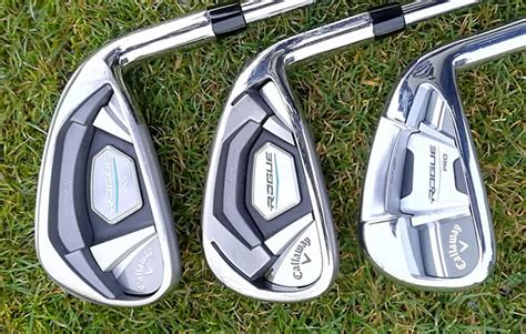 rogue irons callaway pro standard golfalot epic distance sat compared