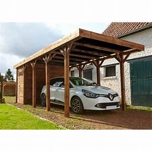 Carport Avec Abri : carport avec d barras 20m en bois autoclave fsc harry madeira ~ Melissatoandfro.com Idées de Décoration