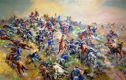 Stand Call Last Bighorn Bugle Custer Battlefield
