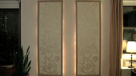 diy lighted floating wall panels curiouscom
