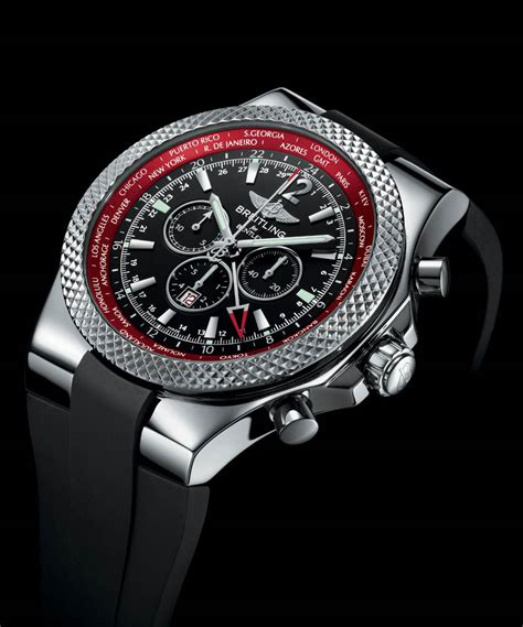 breitling celebrates  continental gt  gmt