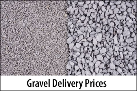 Cost Of Crushed Gravel Per Cubic Yard - 2019 average gravel delivery prices how much does crushed