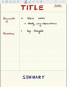 Cornell Note Taking  U2014 The Best Way To Take Notes Explained