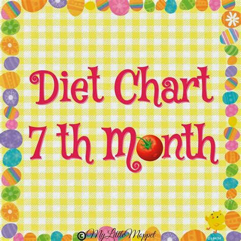 months baby food chart   moppet